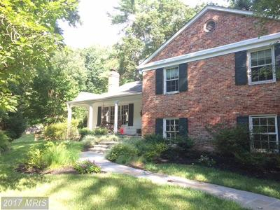 Bethesda Single Family Home For Sale: 8100 Lilly Stone Drive