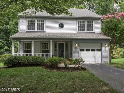 Gaithersburg Single Family Home For Sale: 431 Upshire Circle