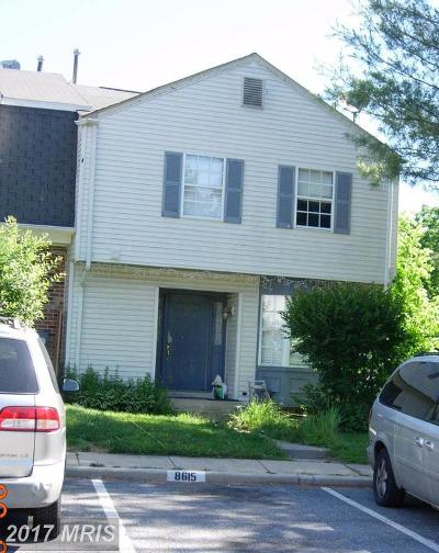 Gaithersburg Townhouse For Sale: 8615 Sedley Court