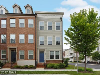 Gaithersburg Townhouse For Sale: 252 Hemingway Drive