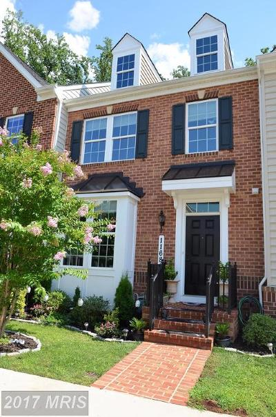 Clarksburg Townhouse For Sale: 11681 Emerald Green Drive