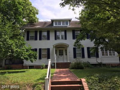 Chevy Chase Single Family Home For Sale: 4212 Stanford Street