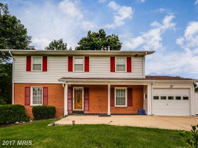 Silver Spring Single Family Home For Sale: 10401 Kinloch Road