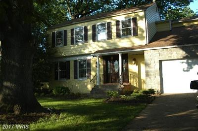 Bethesda Single Family Home For Sale: 9825 Old Georgetown Road