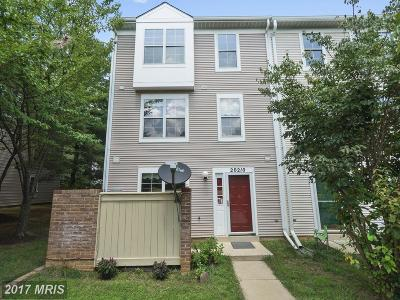 Gaithersburg Townhouse For Sale: 20210 Harbor Tree Road