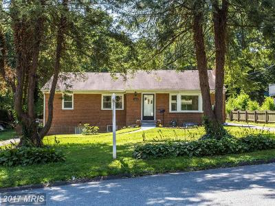 Woodside Park Single Family Home For Sale: 1608 Grace Church Road