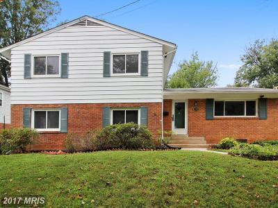 Bethesda Single Family Home For Sale: 10106 Ashburton Lane