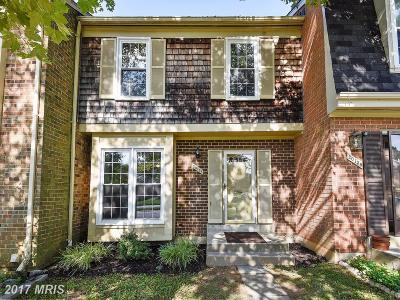Montgomery Village Townhouse For Sale: 20136 Torrey Pond Place