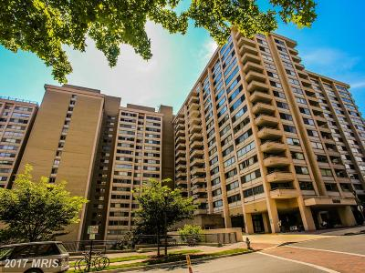 Chevy Chase Condo For Sale: 5500 Friendship Boulevard #2426N