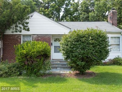 Gaithersburg Single Family Home For Sale: 110 Chestnut Street
