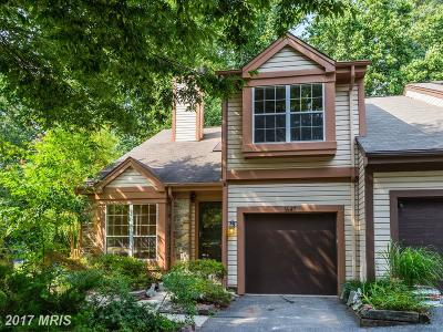 Silver Spring Townhouse For Sale: 1647 Hugo Circle