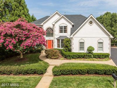 Rockville Single Family Home For Sale: 10207 Cross Haven Court