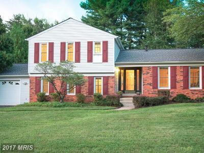 Rockville Single Family Home For Sale: 16925 Glen Oak Run