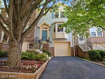 Gaithersburg Townhouse For Sale: 111 Leafcup Road