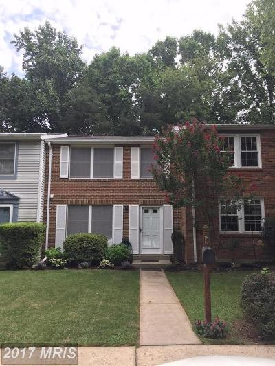 Gaithersburg Townhouse For Sale: 10320 Apple Ridge Road