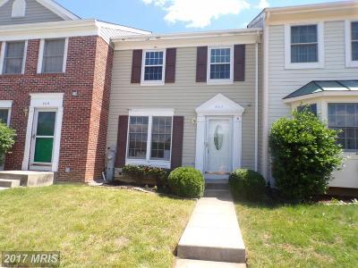 Burtonsville Townhouse For Sale: 4317 Isleswood Terrace