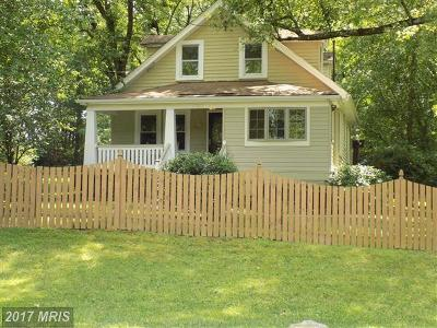 Brookeville Single Family Home For Sale: 3700 Damascus Road