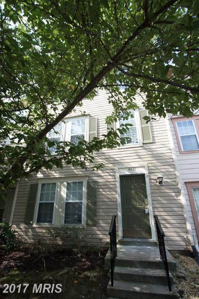 Burtonsville Townhouse For Sale: 14631 Monmouth Drive #10-111