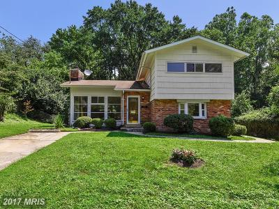 Rockville Single Family Home For Sale: 311 Twinbrook Parkway