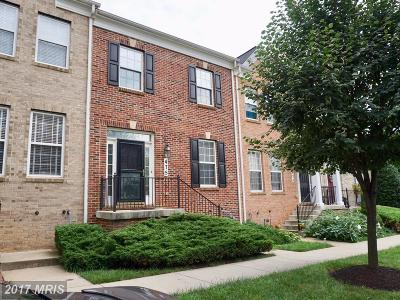 Gaithersburg Townhouse For Sale: 475 Whetstone Glen Street