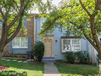 Gaithersburg Townhouse For Sale: 10506 Apple Ridge Road
