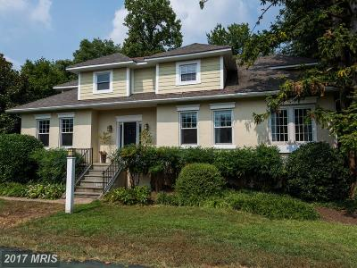 Chevy Chase Single Family Home For Sale: 5115 Bradley Boulevard