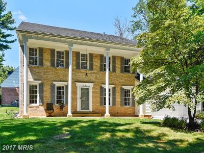 Potomac Single Family Home For Sale: 1793 Milboro Drive