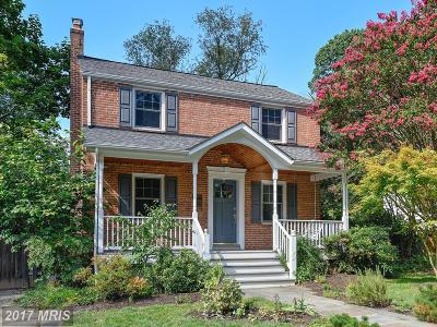 Kensington Single Family Home For Sale: 4313 Ambler Drive