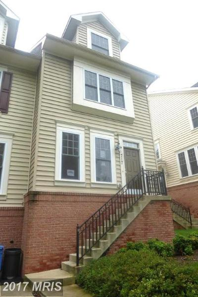 Silver Spring Townhouse For Sale: 717 Glouster Knoll Drive