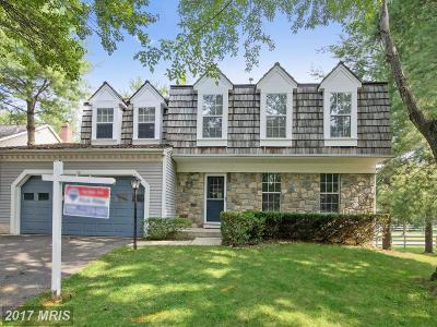 Gaithersburg Single Family Home For Sale: 22 Grantchester Place