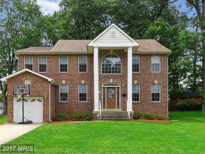 Silver Spring MD Single Family Home For Sale: $770,000