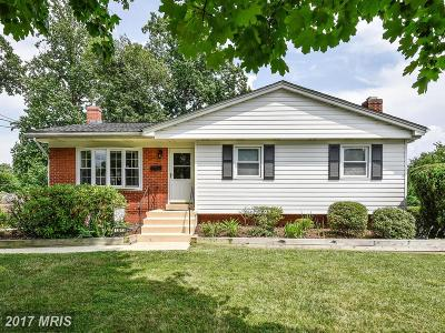 Rockville Single Family Home For Sale: 13813 Bauer Drive
