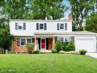 Rockville MD Single Family Home For Sale: $485,000