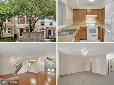Burtonsville Townhouse For Sale: 14734 Wexhall Terrace #25