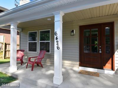 Takoma Park Single Family Home For Sale: 6426 5th Avenue