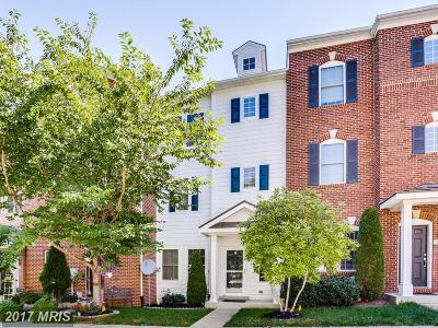 Gaithersburg Townhouse For Sale: 18731 Falling River Drive