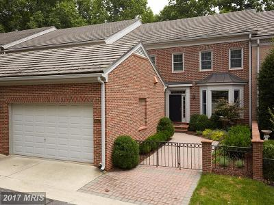 Potomac Townhouse For Sale: 7807 Gate Post Way