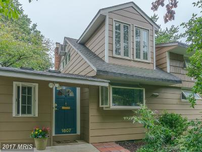 Montgomery Single Family Home For Sale: 1607 Marshall Avenue