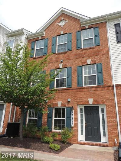 Clarksburg Single Family Home For Sale: 23129 Roberts Tavern Drive #3169