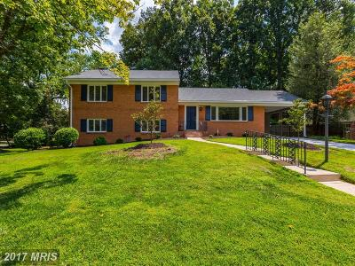 Bethesda Single Family Home For Sale: 10315 Cheshire Terrace