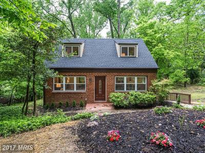 Silver Spring Single Family Home For Sale: 2925 Wilton Avenue