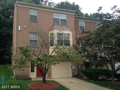 Silver Spring Townhouse For Sale: 11432 Encore Drive