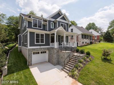Bethesda Single Family Home For Sale: 8809 Melwood Road