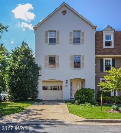 Silver Spring Townhouse For Sale: 700 Twin Holly Lane