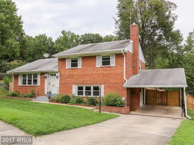 Rockville Single Family Home For Sale: 12203 Nordlie Drive