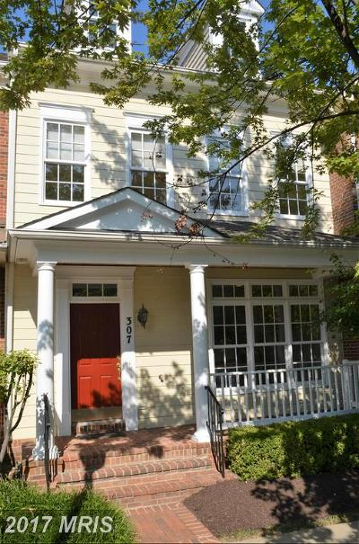 Rockville Townhouse For Sale: 307 Casey Lane