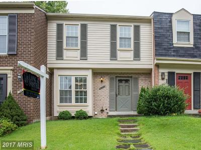 Montgomery Village Townhouse For Sale: 19839 Billings Court