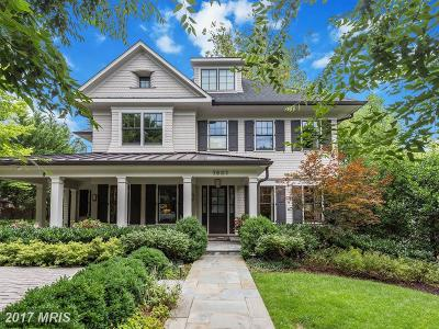 Chevy Chase Single Family Home For Sale: 5603 Surrey Street