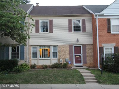 Gaithersburg Townhouse For Sale: 30 Landsend Drive
