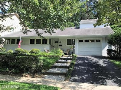 Bethesda Single Family Home For Sale: 10123 Parkwood Drive